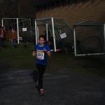 Mari har snart fullført sin 800m.
